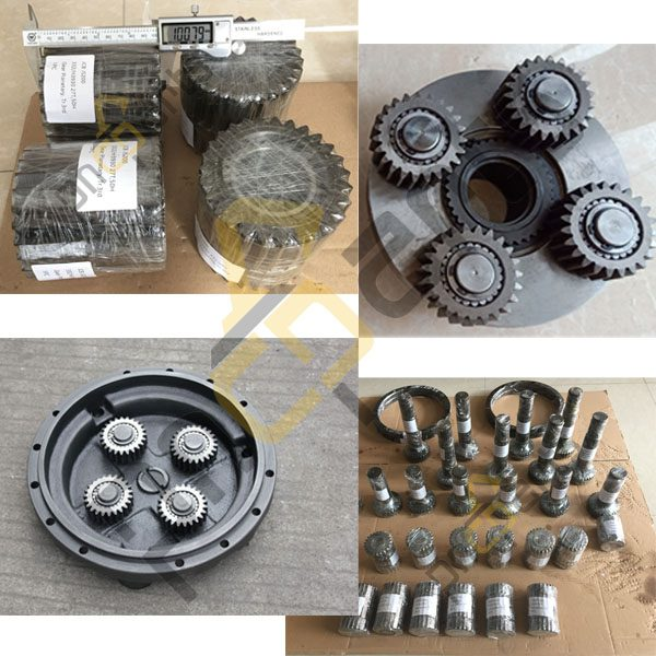 JCB220 gear spare parts - JCB JS220 Travel 1st Planet Carrier Assy 05/903805 With 2nd Solar Gear