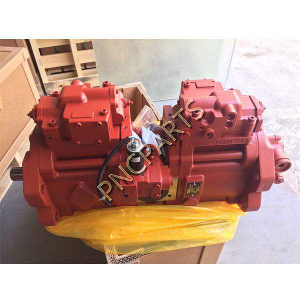 R210 7 main pump b - Kawasaki JCB JS220 Hydraulic Main Pump K3V112DT 9C32,14T