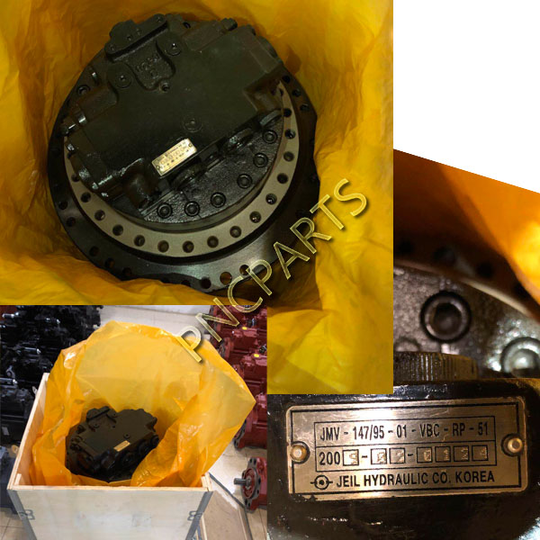JCB JS220 travel motor - JCB JS220 Travel Motor Assy TM40 31N6-40050 Final Drive Device For Excavator