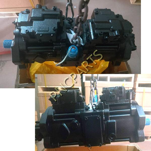 K3V112DTP main pump - Kawasaki JCB JS220 Hydraulic Main Pump K3V112DTP 215/13686