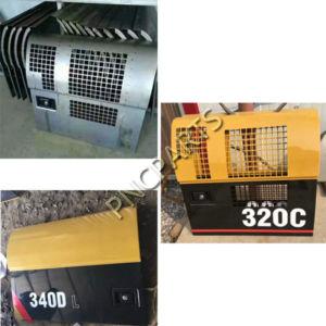 E320C side door 1 300x300 - Caterpillar E320C Radiator side Door CAT320C Backdoor Radiator