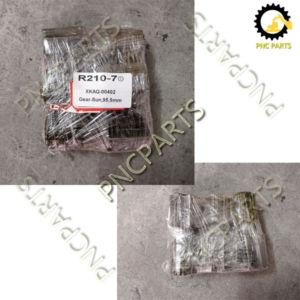 No. 12 R210 7 ① XKAQ 00402 Gear Sun 1 95.5mm 300x300 - Hyundai R210-7 XKAH-00904 Ring Gear(A) R180-7 XKAH-01672