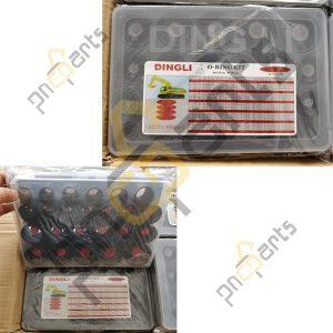 Dingli R60 R200 R220 R450 O Ring Kit 300x300 - Dingli Hyundai R60 R200 R220 R450 O Ring Kit Ring Box