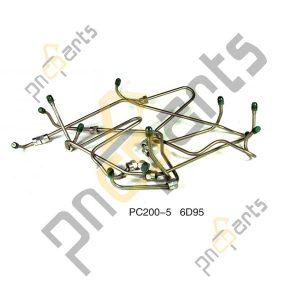 PC200 5 6D95 Fuel Injection Line Set 300x300 - Komatsu PC200-5 6D95 Fuel Injection Line Set