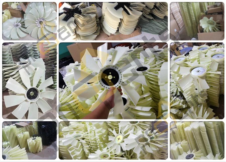 Fan Blade wm - JCB JS220 Fan Cooling 334/K3998 Fan Blade 650mm