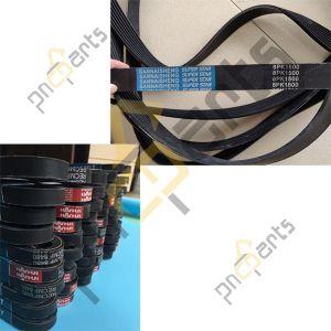 8PK1500 Fan Belts 300x300 - JCB JS160 Hydraulic Pump Coupling Hub, Spline