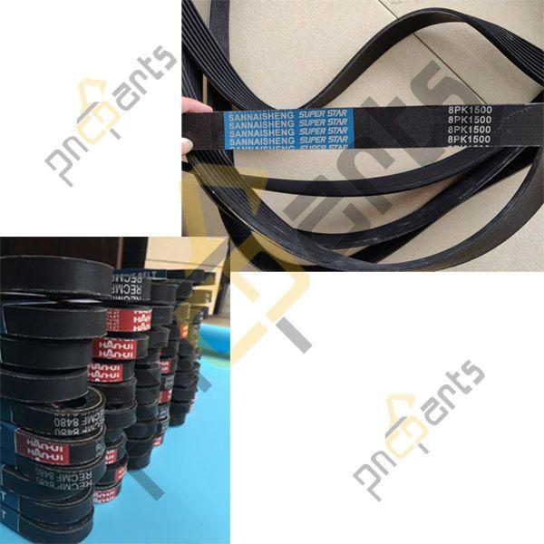 8PK1500 Fan Belts - Komatsu Excavator 8PK1500 Fan Belts, PC350-7 Fan Belt