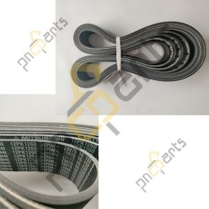 E135B fan belt 12PK1260 VA3434904400  300x300 - E135B Fan Belt 12PK1260 V Ribbed Belt VA3434904400