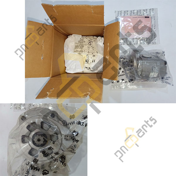 JS160W Gear Pump 20/950663 Main Hydraulic Components