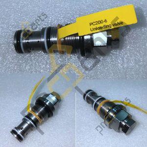 PC200 6 Unloading valve 723 40 56100 300x300 - PC200-6 Unloading valve 723-40-56100 Pressure Relief Valve