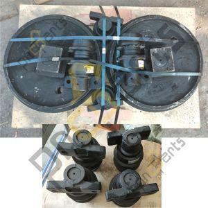 CX210 JCB220 Undercarriage parts 300x300 - CX210 Idler KRA1767, Carrier Roller KRA13750
