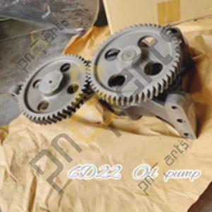 6D22 300x300 - Mitsubishi 6D22 Oil Pump ME359717 ME054056 53T 47T