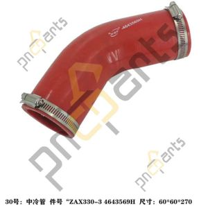 4643569H 300x300 - ZAX330-3 ZAX350LC-3 Inter Cooling Piping 4643569H Clamp Hose 4504491