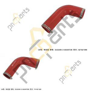 ZX330LC 3 300x300 - ZX330LC-3 ZX330-5G Inter Cooler Piping 4643572 4643571 With Clamp Hose 4504491 4503469