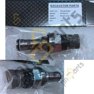 PC75uu 3 main relief valve 723 20 61502 300x300 - Komatsu PC75uu-3 Main Relief Valve 723-20-61502 Hydraulic Spare Parts