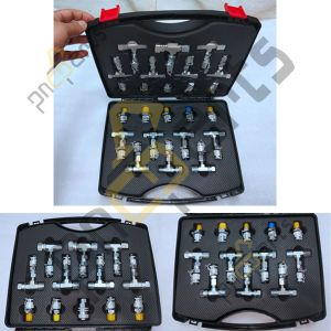Hydraulic Tube Connector Kit 300x300 - Hydraulic Hose Fittings kit Pipe Fittings Kit 24pcs