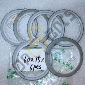 60x75x4 Dust seal 300x300 - SK200 SK135SR Dust Seal 2445R138D3 ID 60 x OD 75 x Th 4mm