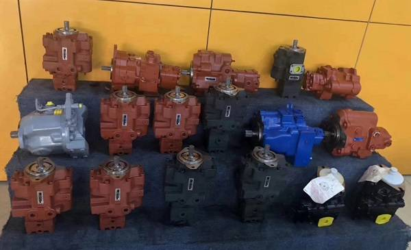 12 - All Kinds of Genuine Piston Pump - KYB, NACHI,REXROTH