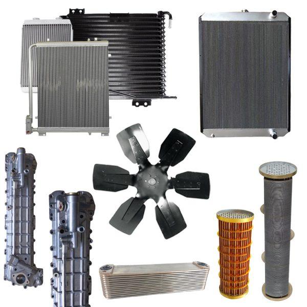 adimage - JCB JS220 Fan Cooling 334/K3998 Fan Blade 650mm